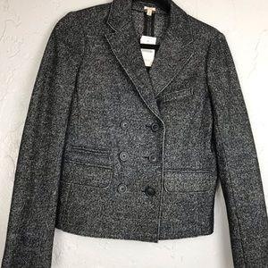 JCrew Marled Gray Wool Blend Blazer Jacket